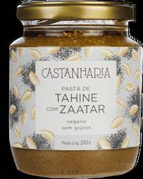Pasta De Tahine Com Zaatar Castanharia 210G