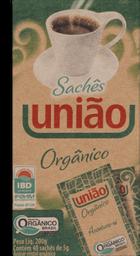 Açúcar Orgânico Com 40 Saches Uniao 200g