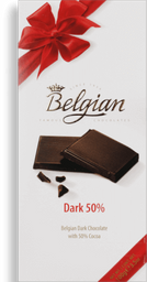 Chocolate 50% Cacao Belgian 100g