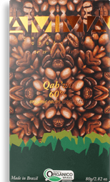 Chocolate Orgânico Qahwa 60% Amma Chocolates 80g
