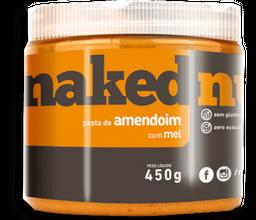 Pasta De Amendoim Com Mel Naked Nuts 450G