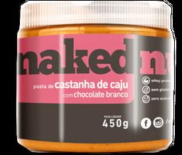 Pasta De Castanha De Caju Com Chocolate Branco Nak