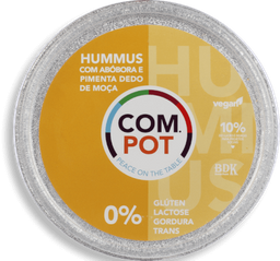 Hummus Abobora/Pimenta Compot 200g