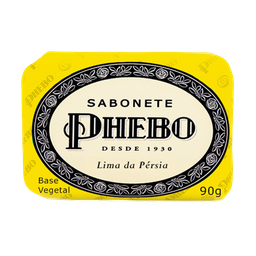 Sabonete Barra Lima Da Persia Phebo 90g