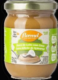 Doce De Leite Com Coco Cremoso Zero Flormel 210G