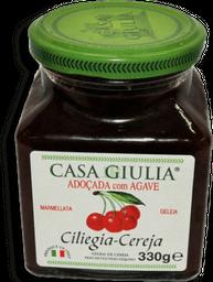 Geleia It Casa Giulia Cereja C/ Agave 330G