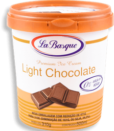 Sorvete Light Chocolate La Basque 500ml