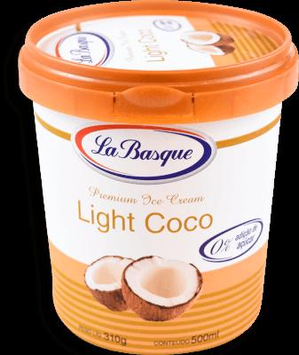 Sorvete Light Coco La Basque 500ml