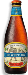 Cerveja Americana Anchor Go West Ipa Clara 355Ml