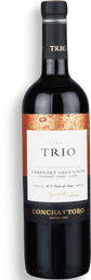 Vinho Chileno ConChá Y Toro Trio Cab Sauv750ml