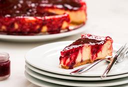 Fatia de Cheesecake Tradicional