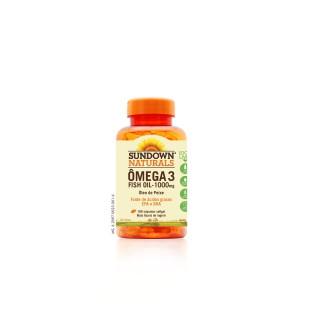 Sundown Omega Fish Oil Epa 1000 mg Com 180 Capsulas
