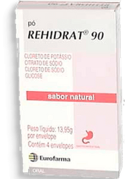 Rehidrat 90 Pó 4 Envelopes Contendo Sabor Natural