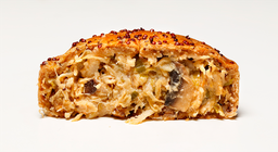 Torta de Frango com Cogumelos