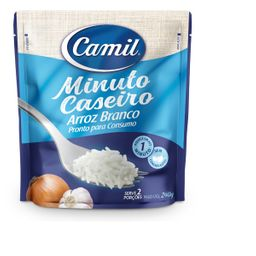 Arroz Branco Minuto Caseiro Camil 240g