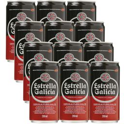 Cerveja Estrella Galicia Lata Pack 269Ml L12P11
