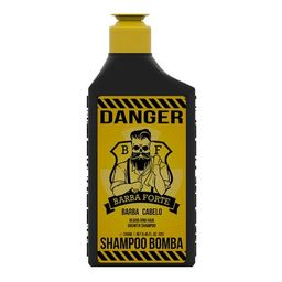 Shampoo Barba Forte Barba Cabelo Danger 250ml