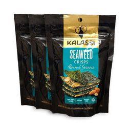 Snackseaweed Crisps Almond Sesame Kalassi 25g