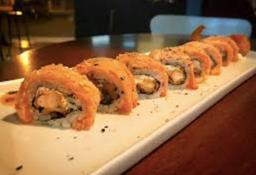 Sushi Roll Camarão Empanado