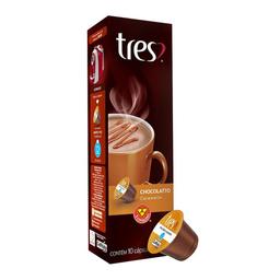 Achocolatado Sabor Caramelo 3 Corações c/ 10 Cápsulas 10,5G