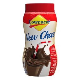 Achocolatado Solúvel Light Sem Lactose Lowçucar New Choco 210 g