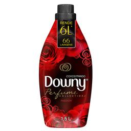 Amaciante De Roupa Concentrado Downy Perfume Passion 1,5 L