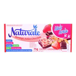Barra De Cereal Sabor Morango E Aveia c/ Chocolate Naturale 3U