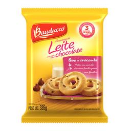 Biscoito Amanteigado De Leite c/ Gotas Chocolate Bauducco 335G