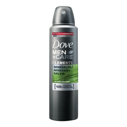 Desodorante Aerosol Dove Men+Care Minerais E Sálvia 150 mL