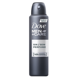 Desodorante Aerosol Dove Men+Care Sem Fragrância 150 mL