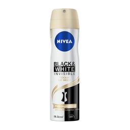 Desodorante Aerosol Nivea Invisible Black & White Feminin 150 mL