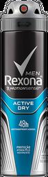 Desodorante Rexona Active Dry Aerosol Masculino 150Ml 90 g