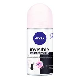 Desodorante Roll-On Nivea Invisible Black & White Feminino 50Ml