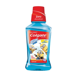 Enx Bucal CLGTE PLAX KIDS MINIONS 250ML