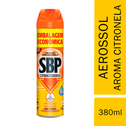Multi Inseticida Aerossol SBP Citronela 380ml