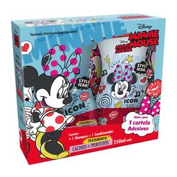 Kit Shampoo E Condicionador Infantil Biotropic Minnie Mouse