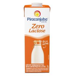 Leite Semidesnatado Sem Lactose Bela Vista Piracanjuba 1 L