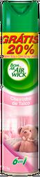 Odorizador Air Wick Básica Aerosol Cheirinho De Talco 432 mL