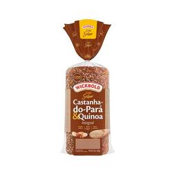 Pão De Forma Castanha Do Pará E Quinoa Wickbold 400 g
