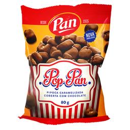 Pipoca Torrada Caramelizada c/ Cobertura De Chocolate Pan 80 g