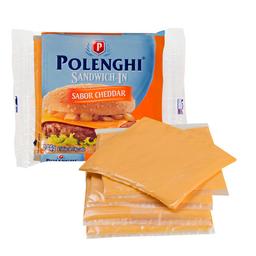 Queijo Processado Fatiado SaborCheddar Polenghi Sandwich-In 144G