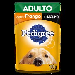 Ração Úmida Pedigree Sachê Frango ao Molho Cães Adultos 100 g