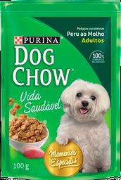 Dog Chow Peru Ao Molho 15X100G