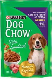 Nestlé Purina Dog Chow Cordeiro Tenro Ao Molho 100g