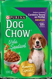 Dog Chow Cordeiro Tenro Ao Molho 15X100G