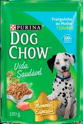 Nestlé Purina Dog Chow Para Cães Filhotes Frango Ao Molho 100g