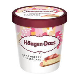 Sorvete De Morango Cheesecake Häagen-Dazs 473Ml