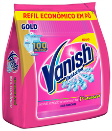 Tira Manchas Vanish 400g Alvejante sem cloro roupas coloridas