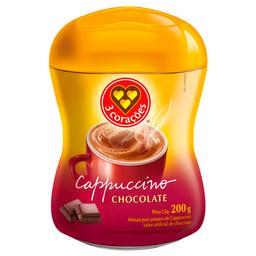 Cappuccino Sabor Chocolate 3 Corações 200 g