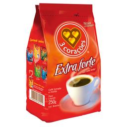 Café Em Pó 3 Corações Extraforte 250 g